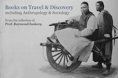Books on Travel & Discovery including Anthropolgy & Sociology
